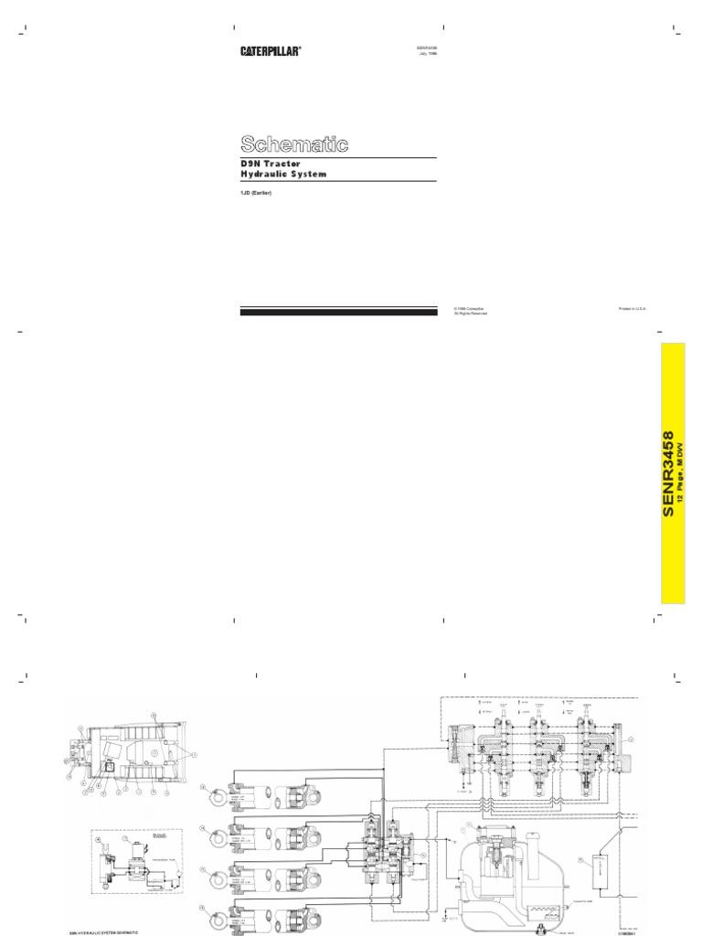 planos hidraulico y electrico d9n 1jd rh scribd com