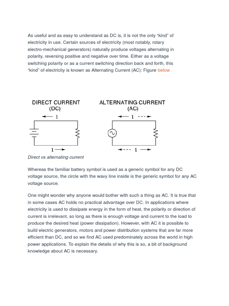 Delighted alternating current symbol contemporary electrical ac vs dc electric generator alternating current biocorpaavc Images