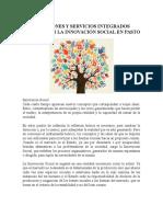 Muñoz, C. La Innovación Social en Pasto