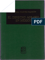 El Derecho Agrario en Mexico- Martha Chávez Padrón