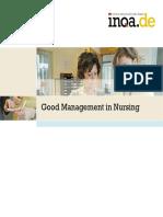 Good Management in Nursing