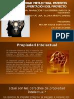 Propiedad Intelectual, Patentes y Unidad 5