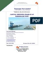 Capital Dredging Tender Document