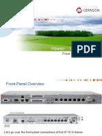 101 - Ceragon - IP-10G Front-Panel - Presentation v1.2