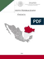 Presupuesto Federalizado Oaxaca