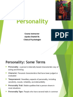 Personality Chapter
