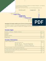 C2 - Écrire en Français (Formules)