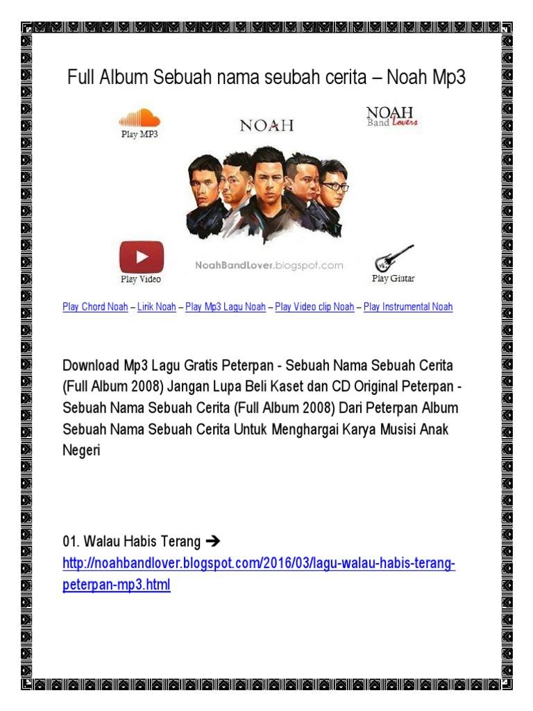 Download best chord peterpan walau habis terang mp3 – download.