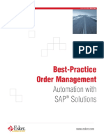 060901_Best Practice Order Management Automation With SAP