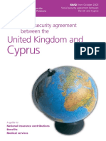 Social Security Agreement Between UK and Cyprus