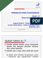 Modul - 12 Sistem Komunikasi Satelit - REVISI
