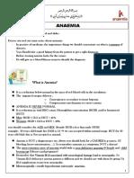 21. Anaemia Lecture