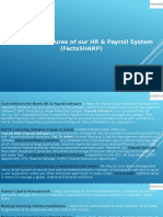 Important Features of Our HR & Payroll System (FactsSHARP)