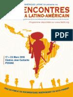 Programme_27e Rencontres Du Cinéma Latino-Américain à Pessac