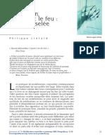 Philippe Liotard, Le Poinçon, La Lame Et Le Feu, La Chai Ciselée