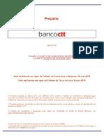Banco CTT Preçário
