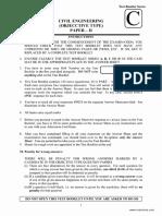 IES Civil Engineering Paper II 2012