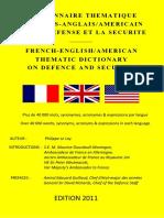 Brochure Du Dictionnaire