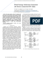 [00] Levi, E. a Six-Phase Wind Energy Induction Generator System With Series-connected DC-links