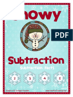 snowy subtraction facts