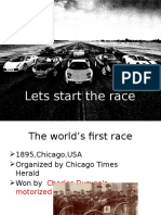 History of Racing Cars
