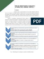 Metode Moderne de Investigare Și Analiză a Transportului Și Mobilității Urbane. Partea I