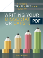 Writing Your Dissertation or Capstone - Roush, Karen [SRG]