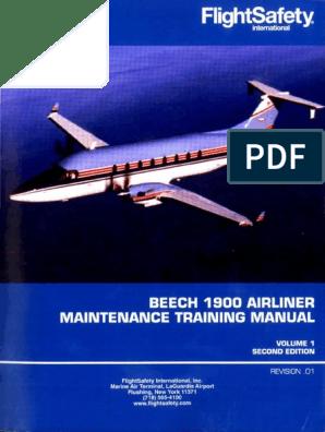 Beech 1900 Airliner Maintenance Training Manual v i