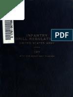 Infantry Drill Regulations 1911
