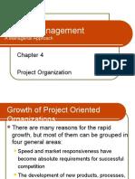 Project Organisation(Self Study)