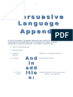 Language Analysis List Ylk5x6