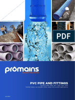 Promains Pvc Pipe and Fittings Product Guide Jan 2012 2