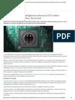 Agência Alemã de Inteligência Informou EUA Sobre Paradeiro de Bin Laden, Diz Jornal _ Alemanha _ DW.com _ 17.05