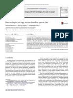 Forecasting Technology Success Based on Patent Data