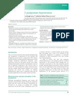 Management of Postpartum Hypertension