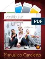 Vestibular Ufop 2010-2 - Manual Do Candidato c Capa