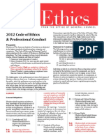 AIA 2012 Code of Ethics