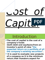 costofcapital-case study