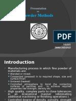 Powder Methods
