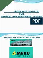 MERU Services