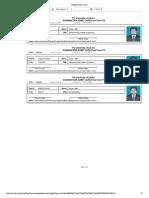Student Exam Card