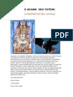 Ritual Para Despertar Seu Animal Totem