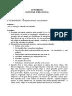 ACTIVITATEA 1-Terapii Corective