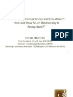Conservatory and Eco-Wealth