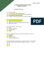 Ans Practice 1 A