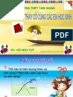 Bai Giang Phan Xa Toan Phan
