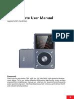 X5 (2nd Gen) Complete User Manual