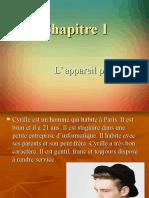 CHAPITRE 1 L'APPAREIL PHOTO.ppt