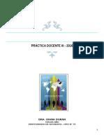 Práctica Docente III Programa