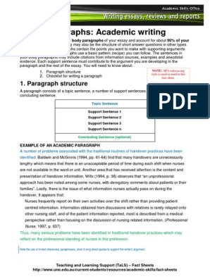 academic writing from paragraph to essay pdf free download